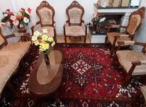 مبل سلطنتی 9 نفره همراه میز بزرگ شیشه دار در شیپور-عکس کوچک