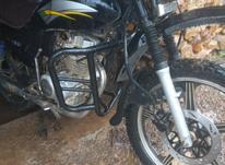 موتورسیکلت تمیز و تازه تعمیر در شیپور-عکس کوچک
