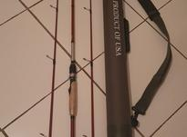 چوب اسپینینگ ماهیگیری با دوسری و اکشن مختلف و هاردکیس در شیپور-عکس کوچک
