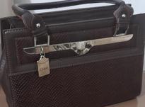 کیف چرم قهوه ای  در شیپور-عکس کوچک