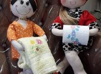 عروسک جا دستمال رولی و جا هوله ای در شیپور-عکس کوچک