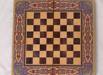 تخته و شطرنج چوب روسی در شیپور-عکس کوچک