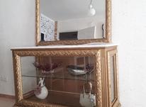 بوفه چوبی با آینه و سنگ عالی ،طرح ایتالیا در شیپور-عکس کوچک