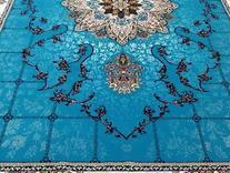 فرش کاف کاشان | هیوا آبی  در شیپور