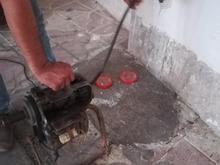 لوله بازکن فاضلاب حرفه ای  در شیپور