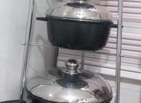 یک سرویس قابلمه جنس چدن در شیپور-عکس کوچک