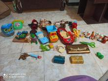 چند تا اسباب بازی کودک در شیپور