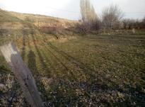 زمین فروشی روستای قیزکورپی سر جاده اسفالت چاه اب ندارد در شیپور-عکس کوچک