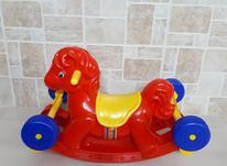 راکی اسب چرخدار کودک در شیپور-عکس کوچک