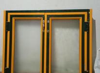 در کابینت آلومینیوم با شیشه یک در یک متر در شیپور-عکس کوچک