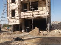 سیمان کاری.دیوار چینی شیب. سفت کاری.  در شیپور-عکس کوچک