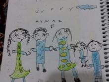 حکاکی نقاشی کودک در شیپور