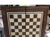 تخته و شطرنج معرق چوبی در شیپور-عکس کوچک