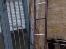 نردبان اهنی  در شیپور