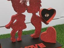 باکس هدیه همراه با استند عاشقانه در شیپور