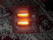 بخاری برقی دو لامپه ناسیونال ژاپن اصل در شیپور