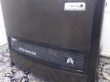 بخاری گازی هیتا شعله با لوله در شیپور