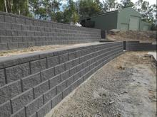 دیوار حائل  در شیپور