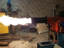 مشعلهای گازی سوز دو میلیون و نیم  در شیپور