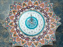 ساعت دیواری مینا کاری شده 8 ضلعی  در شیپور
