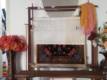 فروش قالیچه نیمه کاره بافت با نخ در شیپور
