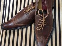 کفش تمام چرم دست دوز سایز 40 (پانخورده) در شیپور-عکس کوچک