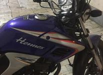 موتورسیکلت هرمس 200 لیفان موتور  در شیپور-عکس کوچک