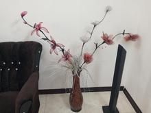 فروش گلدان سفالی به همراه گل فوق العاده زیبا  در شیپور