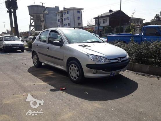 پژو 206 (تیپ2) 1385 نقرهای در گروه خرید و فروش وسایل نقلیه در گیلان در شیپور-عکس2