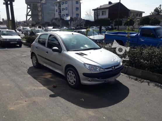پژو 206 (تیپ2) 1385 نقرهای در گروه خرید و فروش وسایل نقلیه در گیلان در شیپور-عکس6