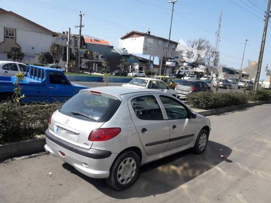 پژو 206 (تیپ2) 1385 نقرهای در گروه خرید و فروش وسایل نقلیه در گیلان در شیپور-عکس7