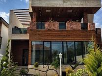 ویلا 400 متری تریبلکس نما مدرن شهرکی استخر داخلی زیر قیمت در شیپور