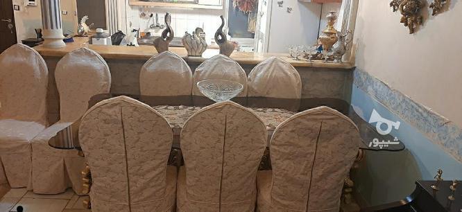 مبل استیل 9 نفره غذاخوری 8 نفره در گروه خرید و فروش لوازم خانگی در تهران در شیپور-عکس2