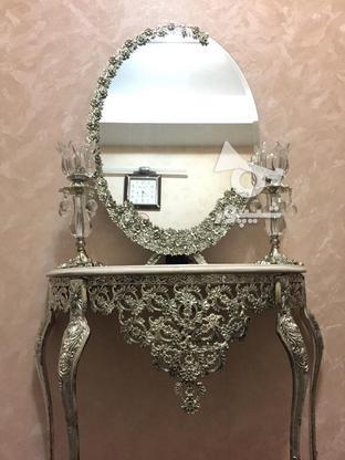 فروش فوری آینه و شمعدان و کنسول در گروه خرید و فروش لوازم خانگی در تهران در شیپور-عکس2