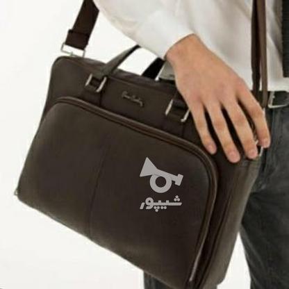 یک عدد کیف چرمی اصل  مردانه پیر گاردین در گروه خرید و فروش لوازم شخصی در تهران در شیپور-عکس2