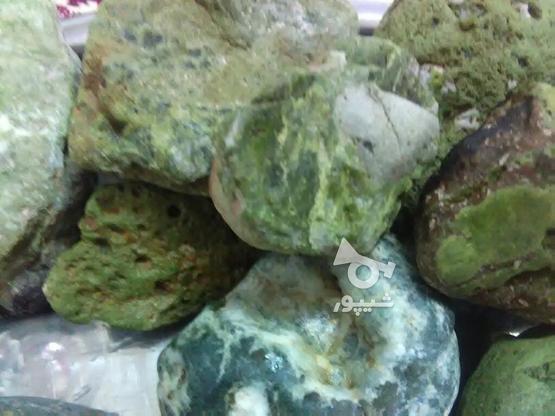 سنگ راف گارنت سبز  در گروه خرید و فروش خدمات و کسب و کار در همدان در شیپور-عکس3