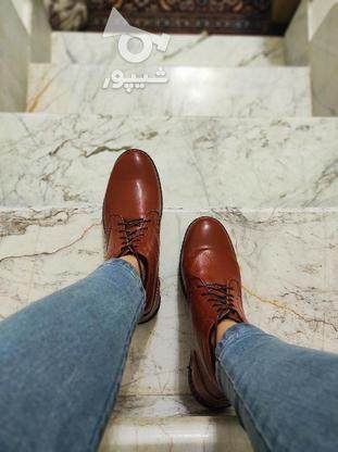 نیم بوت چرم در دو رنگ موجود است در گروه خرید و فروش لوازم شخصی در تهران در شیپور-عکس2