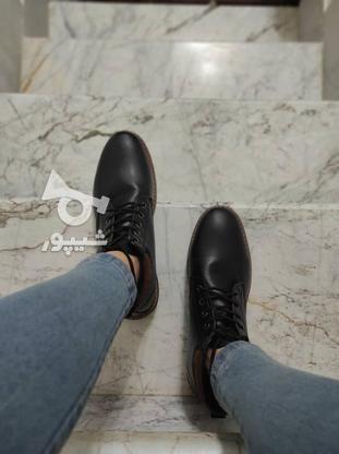 نیم بوت چرم در دو رنگ موجود است در گروه خرید و فروش لوازم شخصی در تهران در شیپور-عکس1