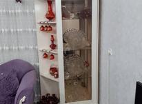 بوفه سفید سالم و تمیز به همراه وسایل کنار بوفه در شیپور-عکس کوچک