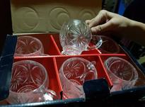 فنجان یا استکان کریستال نو با جعبه  در شیپور-عکس کوچک