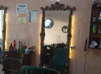 ایینه درحد صفر رنگ طلایی مشکی و ب همراه نور مخفی  در شیپور-عکس کوچک