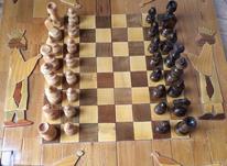 شطرنج معرق ساخته شده از چوب گردو  در شیپور-عکس کوچک