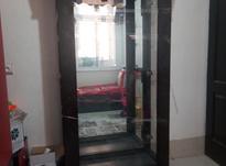 ویترین چهار طبقه چوبی درجه یک تمیز  در شیپور-عکس کوچک