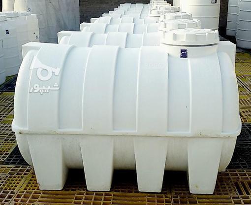 مخزن آب 1000 لیتری افقی پلی اتیلن - تانکر و منبع ذخیره آب در گروه خرید و فروش صنعتی، اداری و تجاری در تهران در شیپور-عکس2
