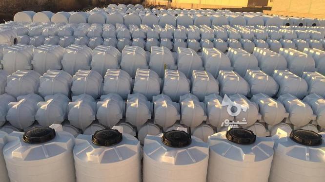 مخزن آب 1000 لیتری افقی پلی اتیلن - تانکر و منبع ذخیره آب در گروه خرید و فروش صنعتی، اداری و تجاری در تهران در شیپور-عکس5