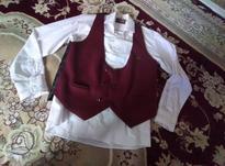 پیراهن سفید نو و جلیقه هم نو در شیپور-عکس کوچک