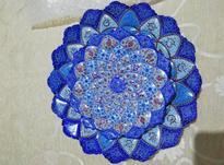 دو عدد بشقاب مینا کاری اصفهان اکبند در شیپور-عکس کوچک