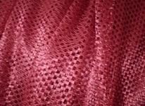 پرده قرمز رنگ با زیر پرده ای در شیپور-عکس کوچک