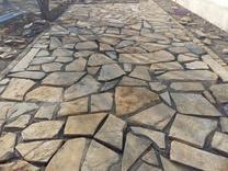 سنگ لاشه کوهی ورقه ای  در شیپور