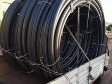 لوله پلی اتیلن 110 هشت اتمسفر گرید دار در شیپور